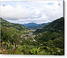 Banaue Rice Terraces Acrylic Print