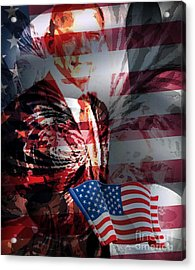 Barack Acrylic Print