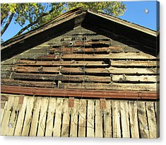 Barn-14 Acrylic Print by Todd Sherlock