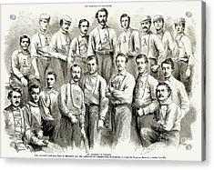 Baseball Teams, 1866 Acrylic Print by Granger
