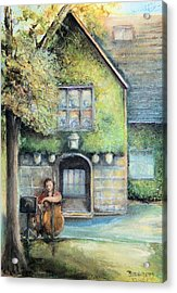 Bass Fiddle At Ford Gala I Acrylic Print by Bernadette Krupa