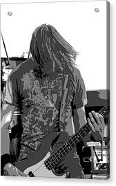 Bass Guitar Acrylic Print by James Hammen