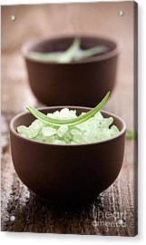 Bath Salt Acrylic Print by Kati Molin