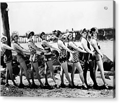 Bathing Beauties, 1916 Acrylic Print by Granger