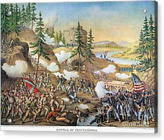 Battle Of Chattanooga 1863 Acrylic Print by Granger