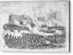 Battle Of Monterrey, 1846 Acrylic Print by Granger