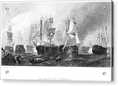 Battle Of Trafalgar, 1805 Acrylic Print