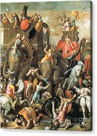 Battle Of Zama Hannibals Defeat Acrylic Print by Photo Researchers