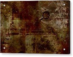 Battlefield Acrylic Print by Christopher Gaston