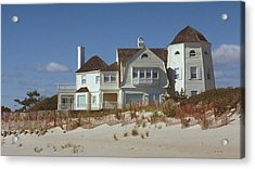 Beach House Acrylic Print