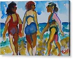 Beach Trio Acrylic Print