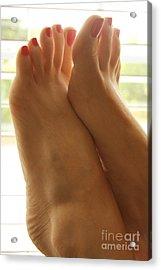 Beautiful Feet Acrylic Print by Tos Photos