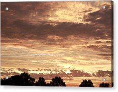 Acrylic Print featuring the photograph Beautiful Sunset by Ann Murphy