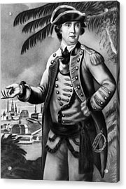 Benedict Arnold 1741-1801, American Acrylic Print by Everett