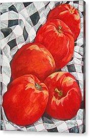 Big Reds Acrylic Print