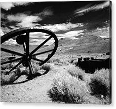 Big Wheel Bodie Acrylic Print
