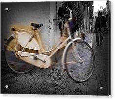 Bike Acrylic Print by Charles Stuart
