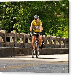 Bike Ride Across Georgia Acrylic Print by Susan Leggett