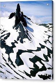 Black Tusk Acrylic Print by John  Bartosik