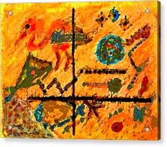 Bliss Is A Constant Acrylic Print by Patricia Januszkiewicz