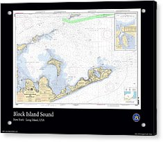 Block Island Sound Acrylic Print by Adelaide Images