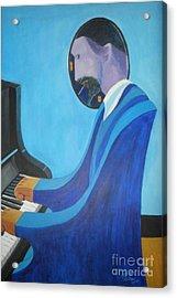 Blue Monk Acrylic Print