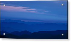 Blue Ridge Panorama Acrylic Print