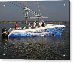 Boat Wrap Acrylic Print