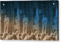 Bob Weir Grateful Dead 74 Dsm Ia Acrylic Print by Tim Donovan