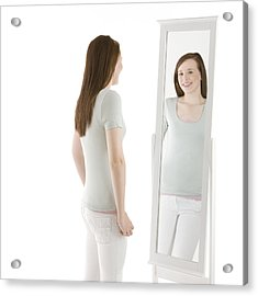 Body Image Acrylic Print by