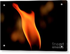 Body Of Fire 2 Acrylic Print by Arie Arik Chen