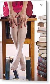 Books Acrylic Print by Joana Kruse