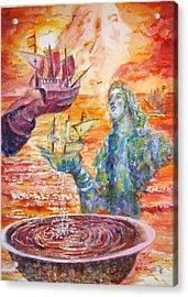 Borinquen Acrylic Print by Estela Robles