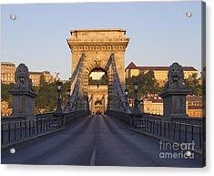 Bridge Acrylic Print by David Buffington