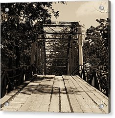 Acrylic Print featuring the photograph Bridge by Julie Clements