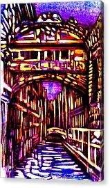 Bridge Of Sighs Acrylic Print by Giuliano Cavallo