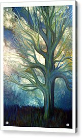 Acrylic Print featuring the painting Brisk by Monica Furlow