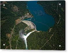 Bullards Bar Dam Acrylic Print