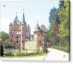 Burg Satsvey Germany Acrylic Print by Joseph Hendrix