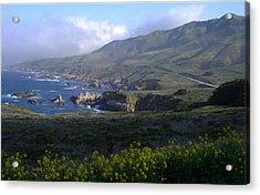 California Coast Acrylic Print by Cyndi Combs