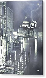 Canal Grande Acrylic Print by Joana Kruse