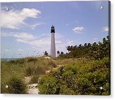 Cape Florida Acrylic Print by Tiffney Heaning