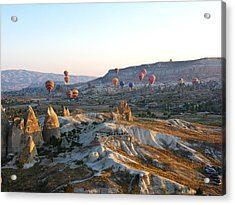 Cappadocia Turkey Acrylic Print by Ian Stevenson