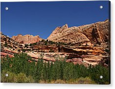 Captial Reef Acrylic Print by Southern Utah  Photography