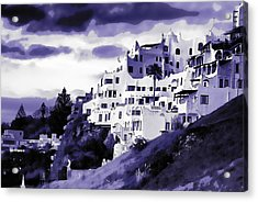 Casa Pueblo Acrylic Print by David April