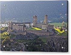 Castel Grande - Bellinzona Acrylic Print by Joana Kruse