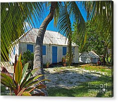 Cayman Islands Cottage Acrylic Print by James Brooker