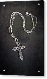 Celtic Cross Acrylic Print by Joana Kruse