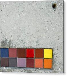Cement Art Acrylic Print