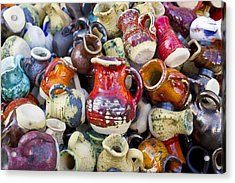 Ceramic  Jugs And Cups  Acrylic Print
